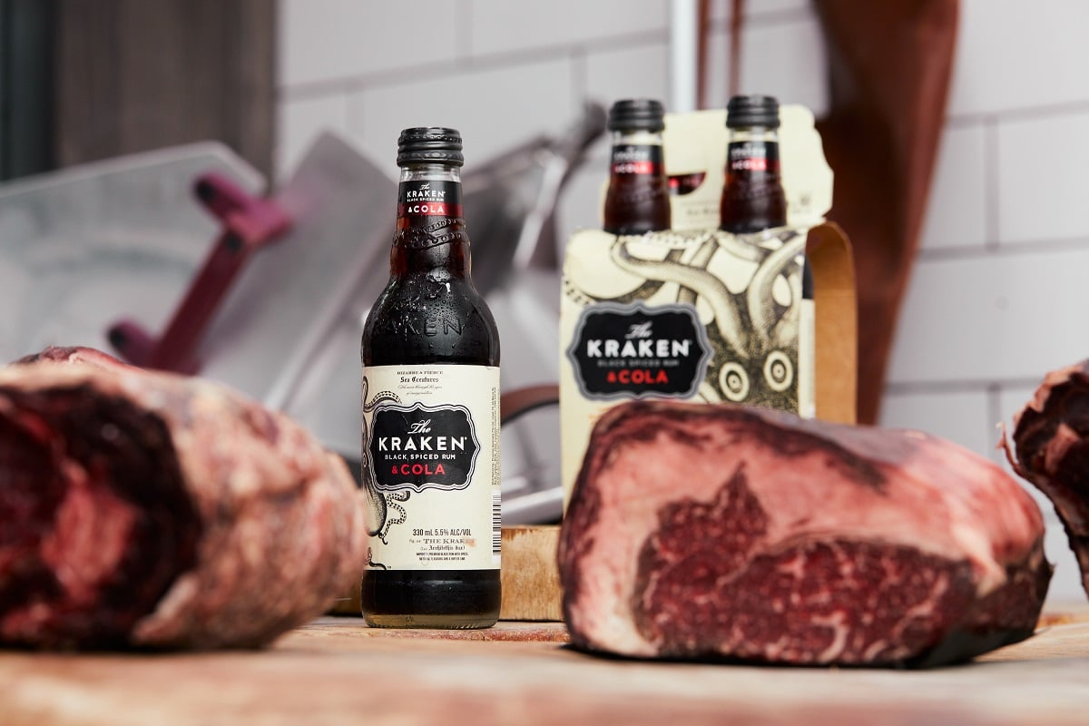 Australia's Best Butchers Team With Kraken Spiced Rum For Ready-to-grill Bbq Packs photo