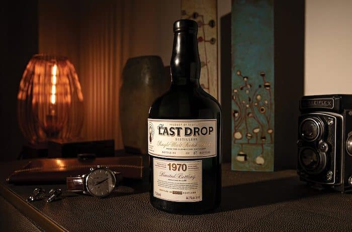 Whiskey Review: Last Drop 1970 Glenrothes Single Malt Scotch Whisky photo