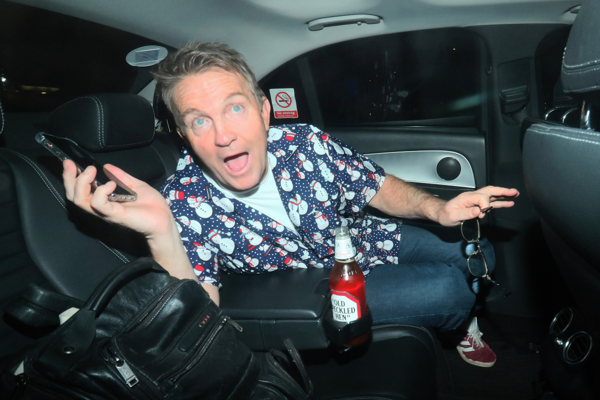 The Chase's Bradley Walsh Breaks Covid Rules As He Goes Maskless In Car photo