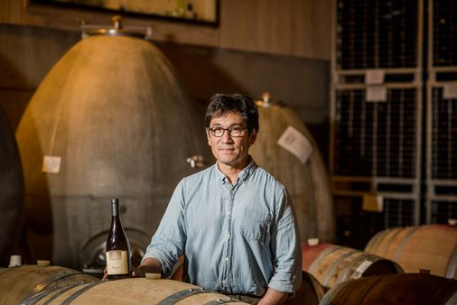 For Winemaker Byron Kosuge, There's Joy — Even At The End Of A Challenging Year photo
