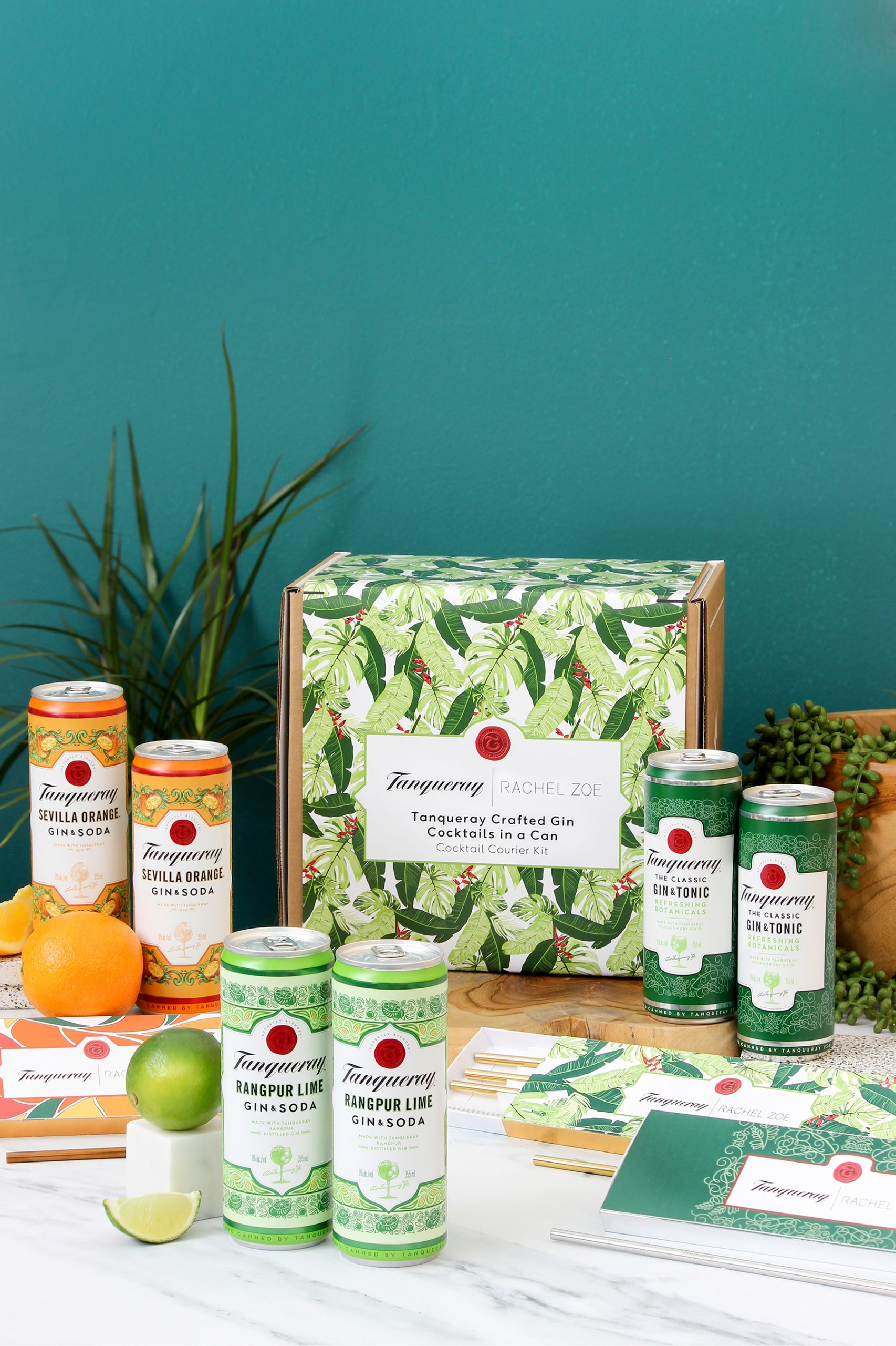 Sip In Style: Tanqueray Announces New Reusable Straw Capsule Collection In Collaboration With Fashion Icon Rachel Zoe photo
