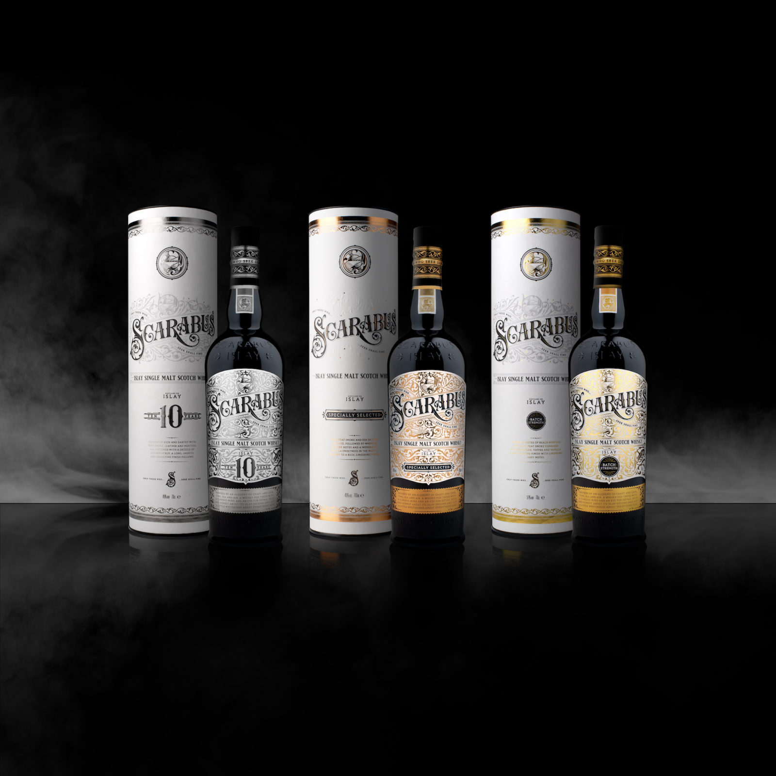 Hunter Laing & Co. Has Introduced Two Brand-new Bottlings To The Scarabus Islay Single Malt Whisky Range photo