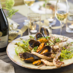 Pairing Seafood And Sparkling Wine photo