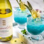 Blue Hurricane Wine Cocktail Recipe photo