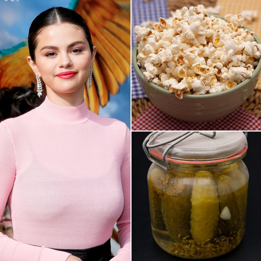 Make Pickle Juice Popcorn Like Selena Gomez photo