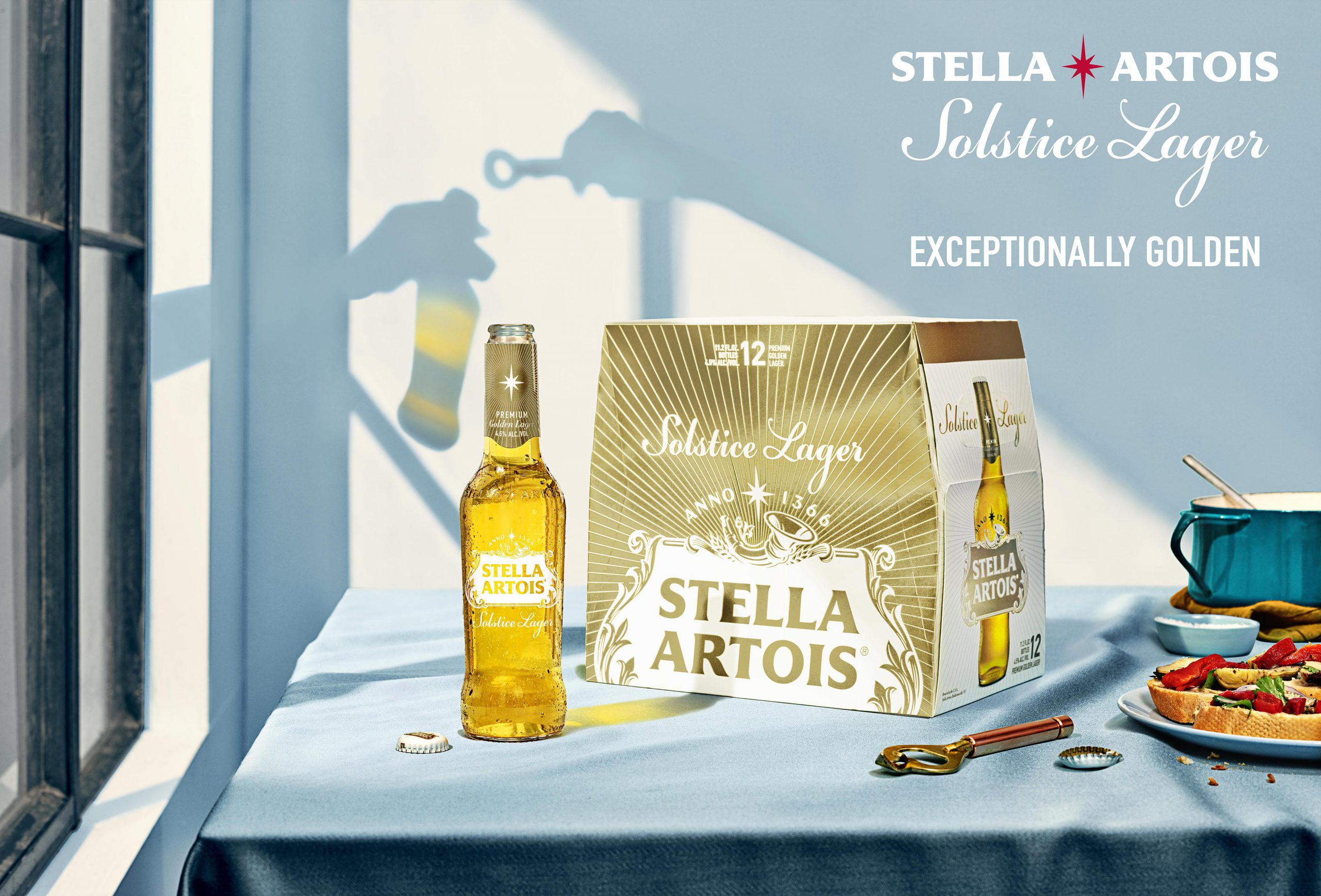 Anheuser-busch Makes Solstice Lager Permanent Part Of Stella Artois Portfolio photo