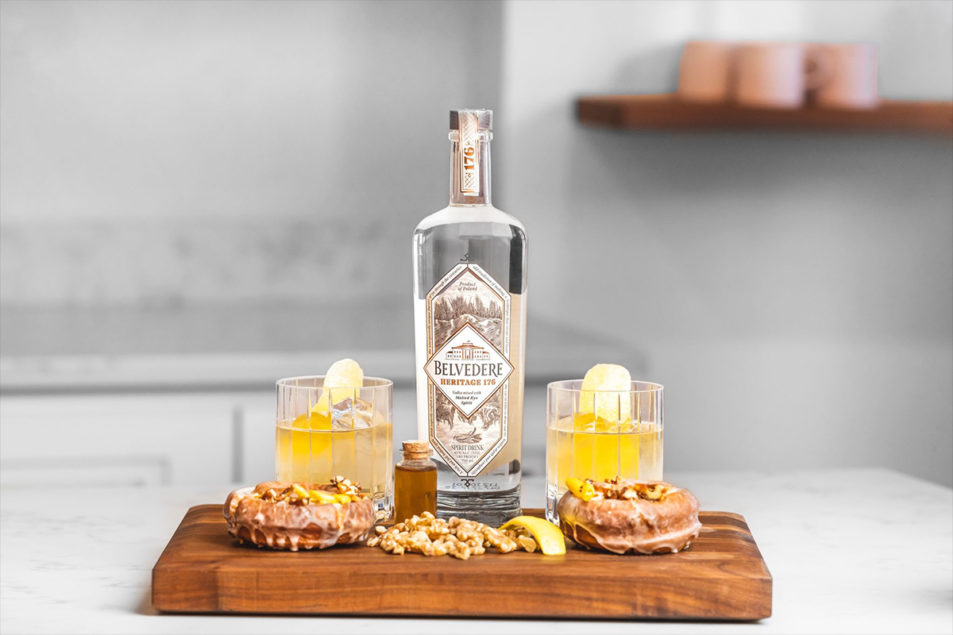 The Doughnut Project Partners With Belvedere Vodka On New Doughnut photo