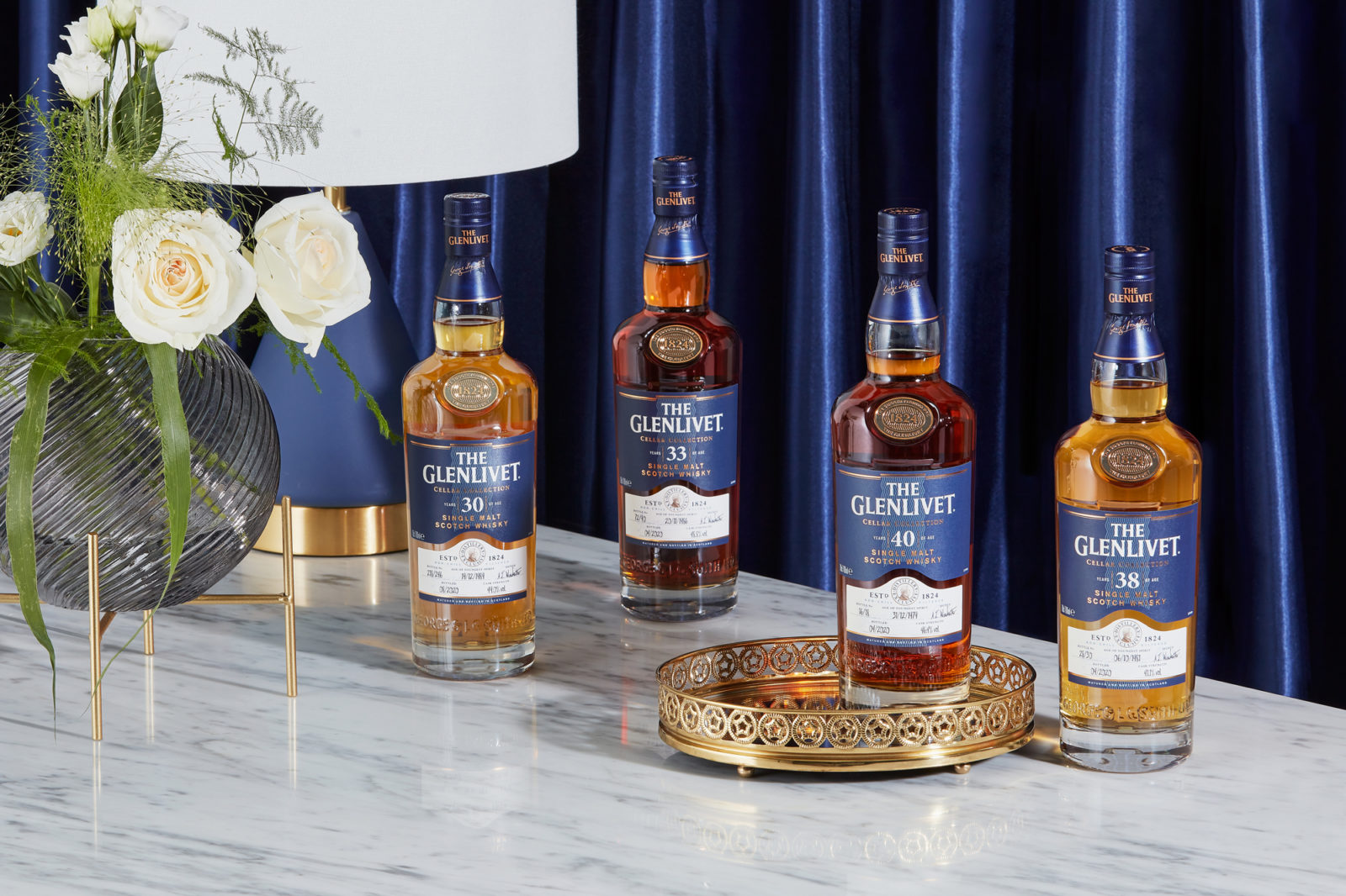 The Glenlivet, Aberlour And Scapa Release Rare Aged Collections Of Whisky photo