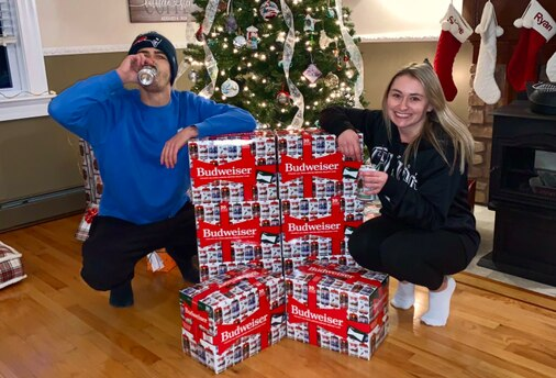 Matt Goodman Used A $10 Bill To Buy His First Legal Beer — A Gift From His Late Father. Now Budweiser Is Sending Him Cases photo