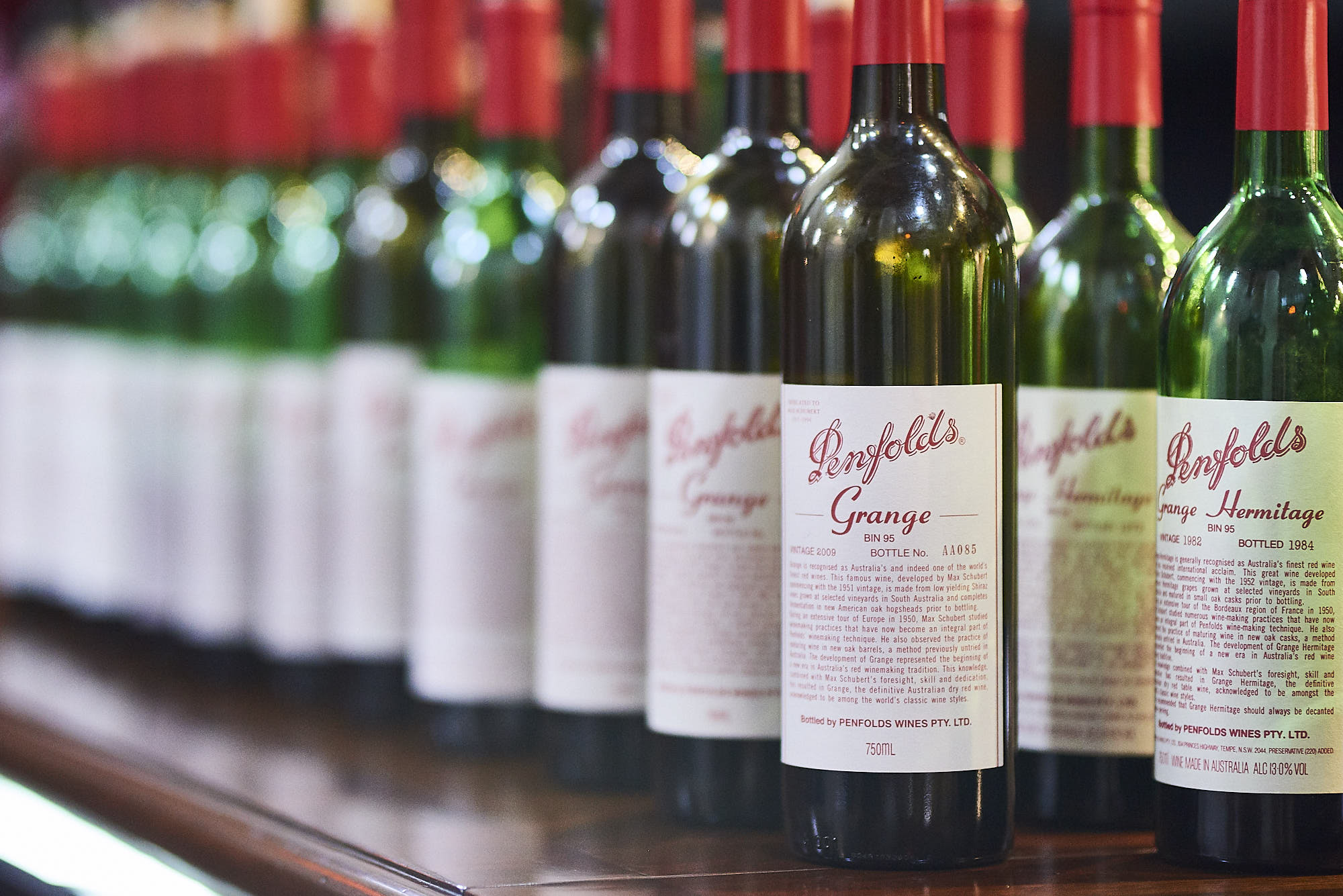 'it's Like Liquid Gold': A Set Of Penfolds Grange Sold At Auction For A Record-breaking $431,000 photo