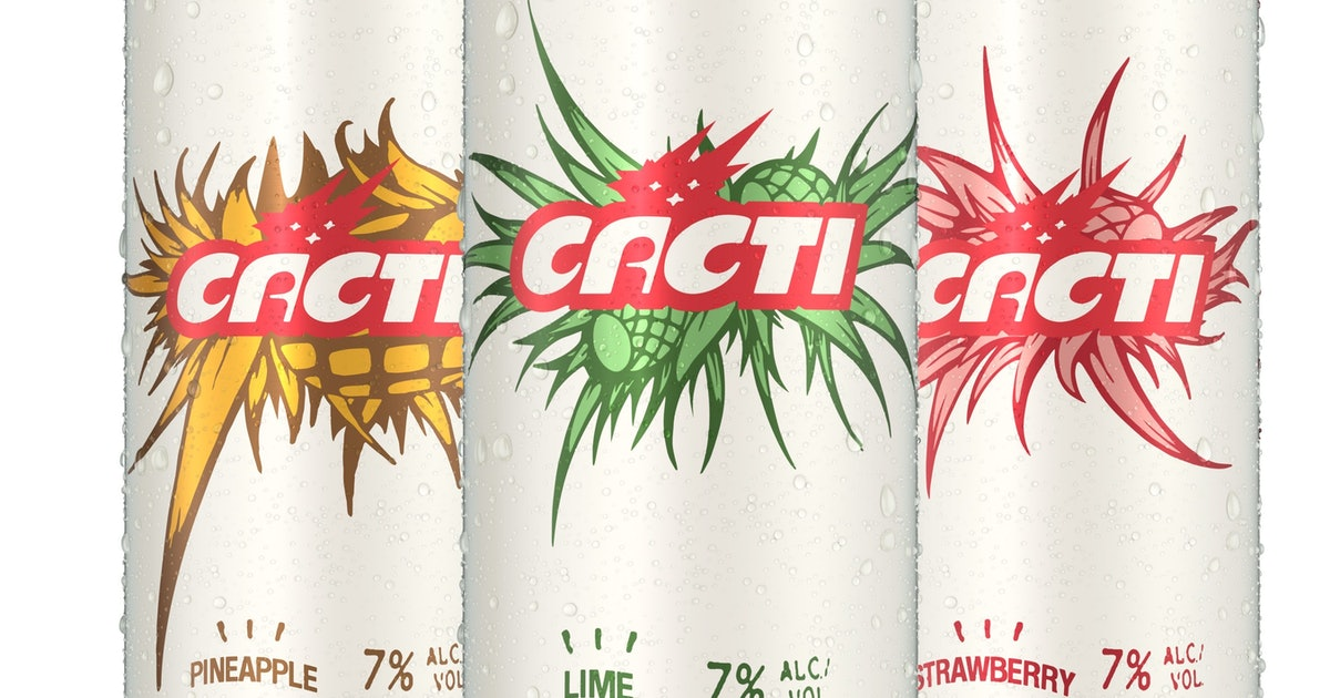 Travis Scott's 'cacti' Hard Seltzer Definitely Has Nothing To Do With White Claw photo