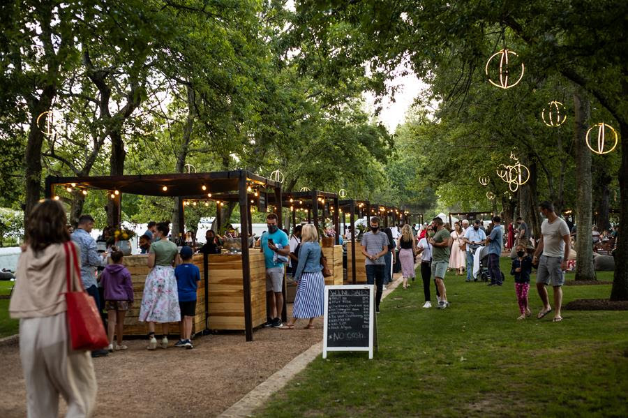 Delicious Mid Summer Nights At Boschendal Farm photo