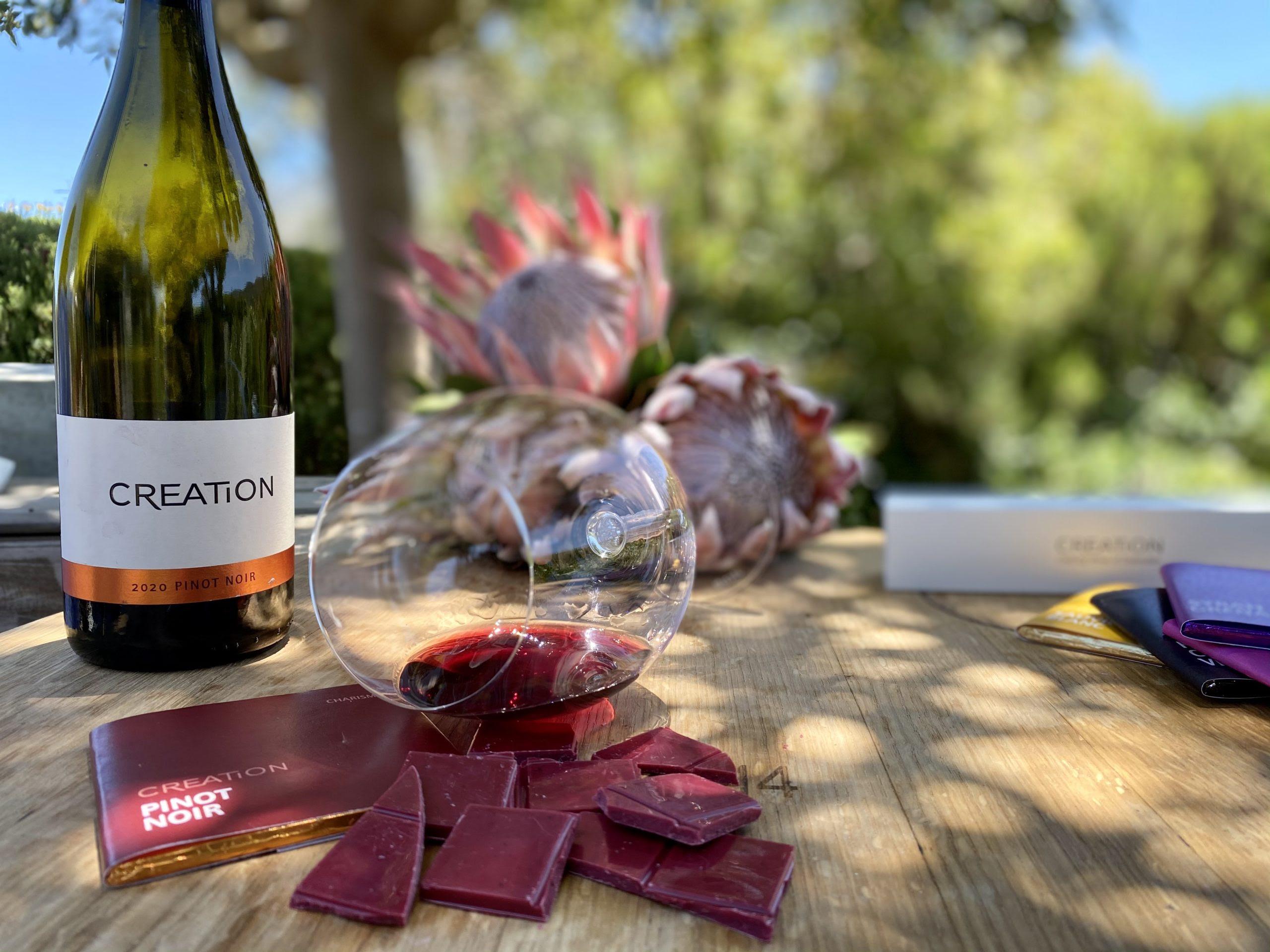 Creation Wines and Von Geusau Chocolates: A World of Passion photo