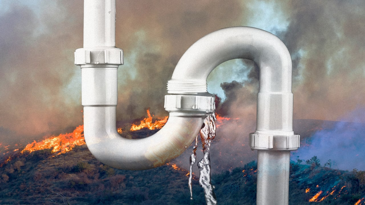 After A Fire, Your Drinking Water May Be Contaminated Even If Your House Was Saved photo
