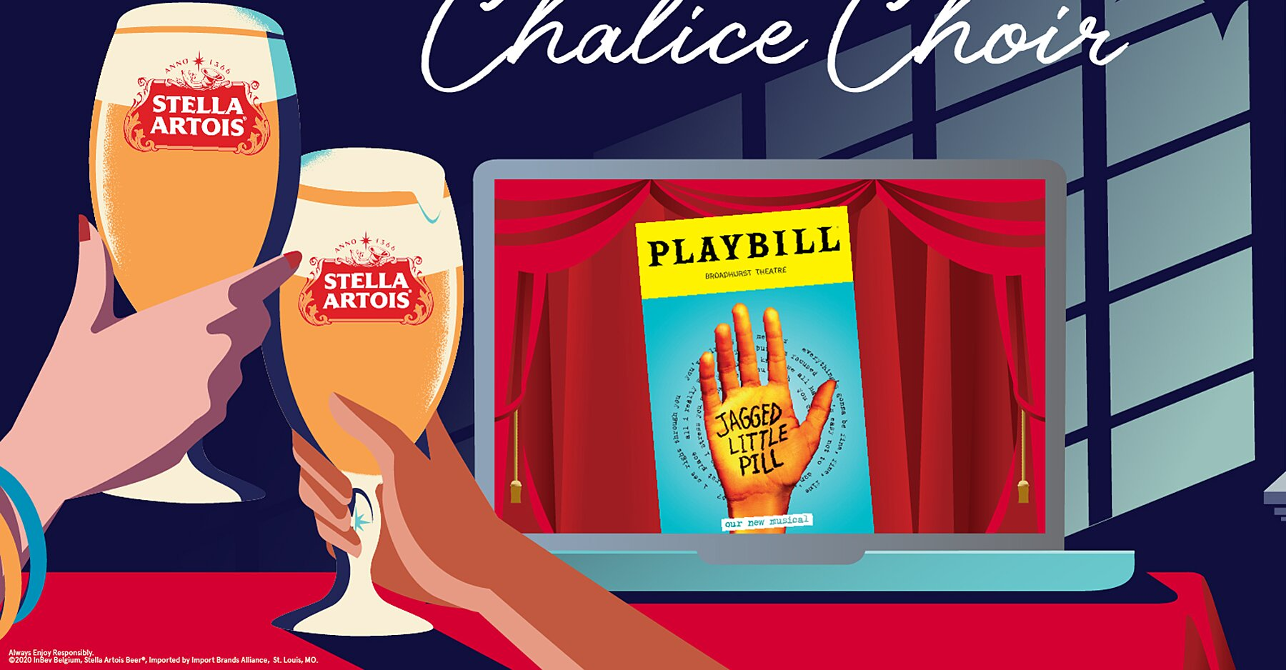 Stella Artois Wants To Give You Free Beer And Private Virtual Show Of Broadway's 'jagged Little Pill' photo