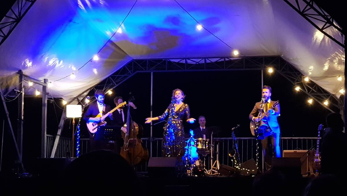 First Concert Brings Glitz To Banks Of Blackwood photo