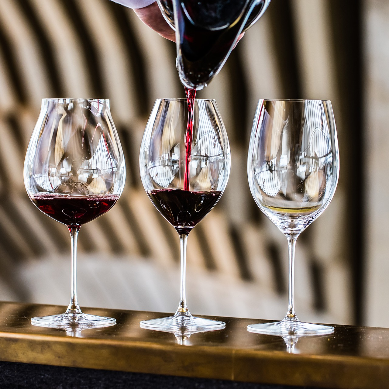 Riedel And Wine Events Scotland Team Up To Show How Glass Shape Affects Taste photo