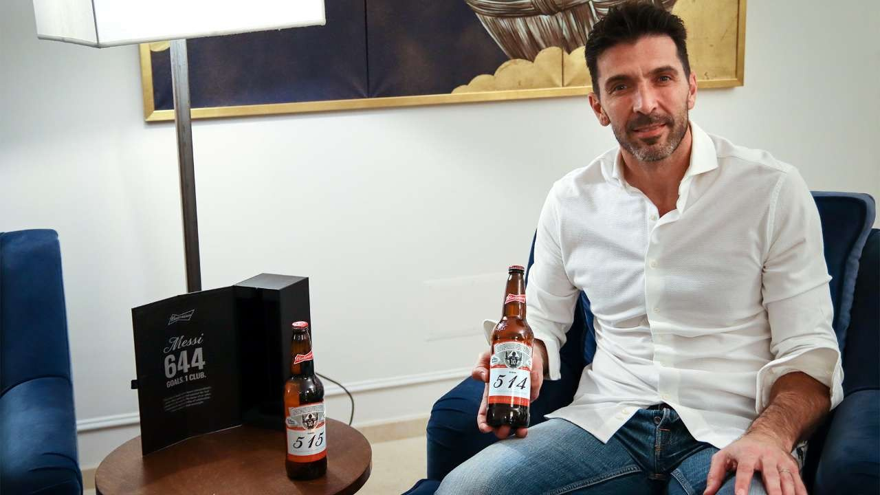 Budweiser Bestows A Beer Upon Each Of The 160 Goalkeepers Lionel Messi Scored Past photo