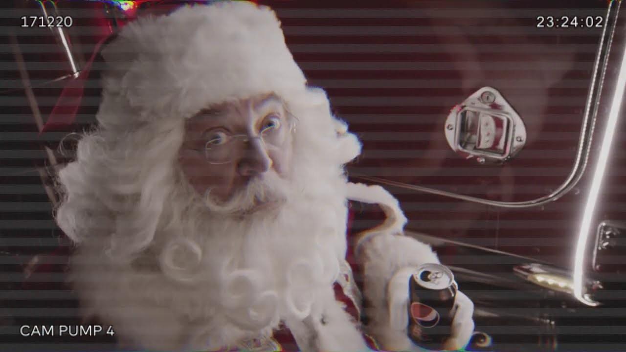 Pepsi Max Reveals A Soda Secret Of Coca-cola's Truck-driving Santa photo