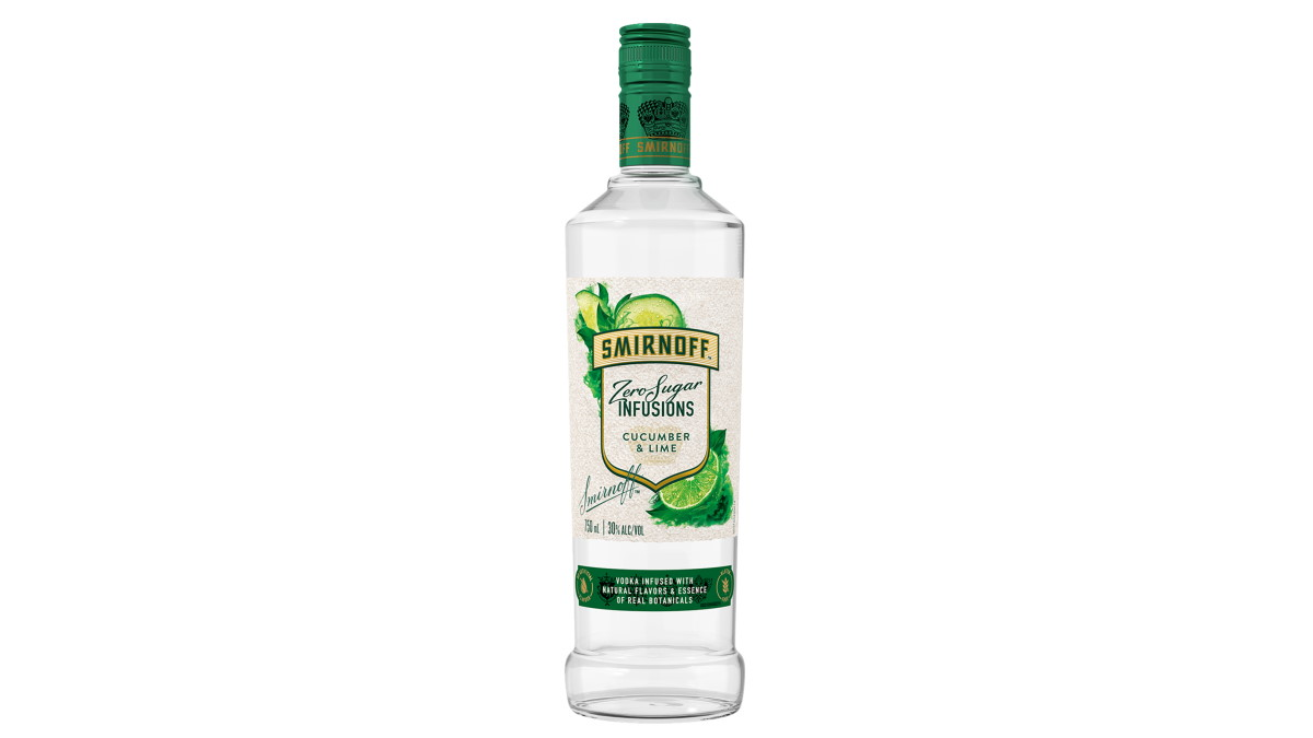 The First Time: Smirnoff Zero Sugar Infusion Cucumber & Lime photo