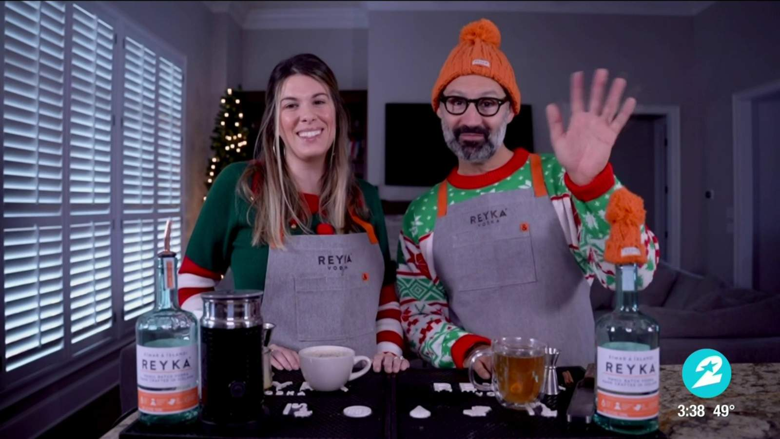 Festive Holiday Cocktails You Can Make To Help Keep Spirits Bright photo