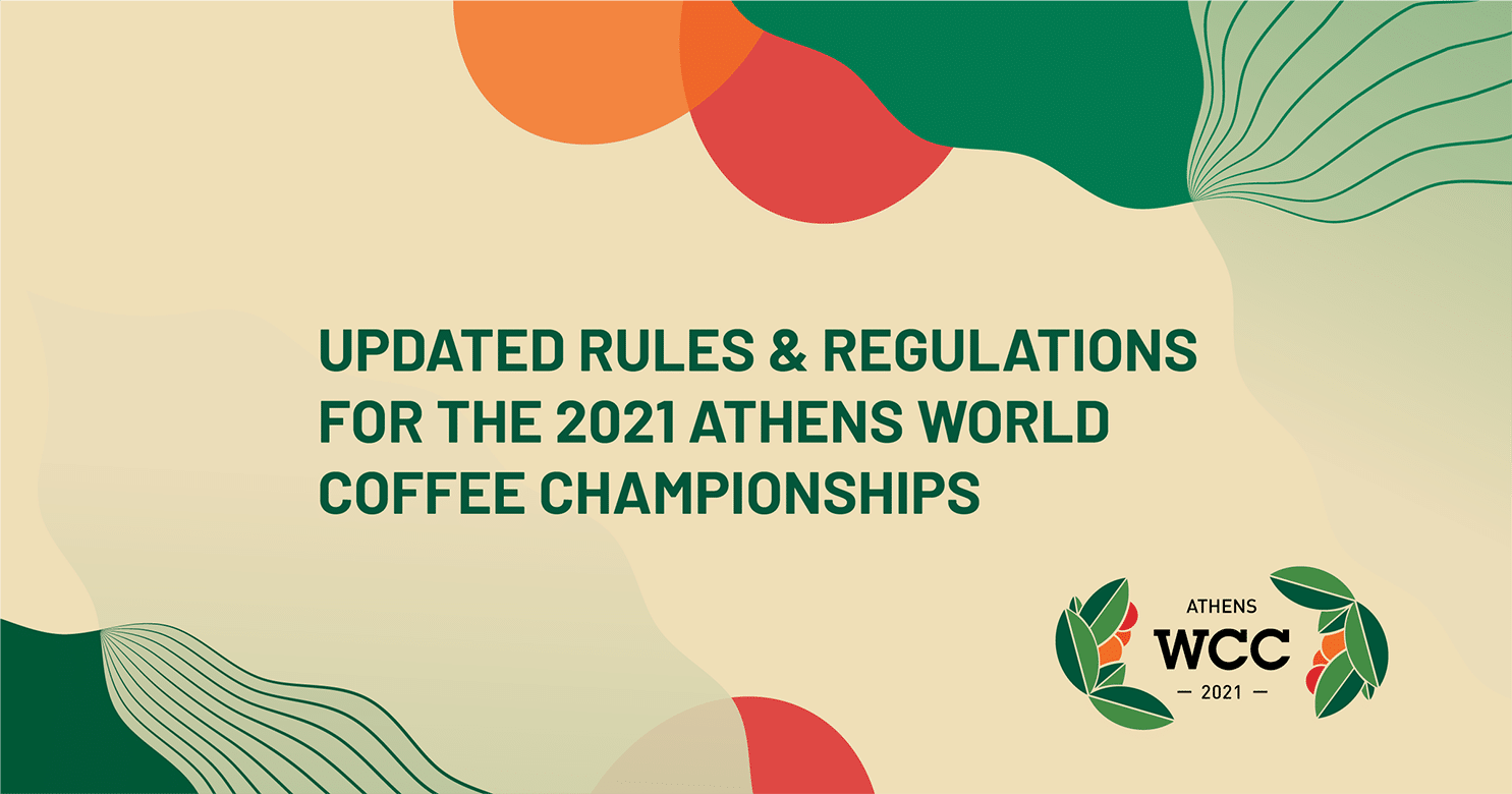 New Covid Rules Have Been Announced For The 2021 World Coffee Championships photo