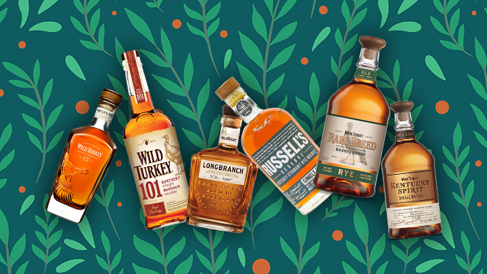 Every Bottle Of The Core Wild Turkey Whiskey Line, Ranked photo