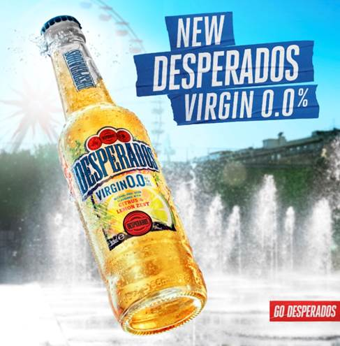 Heineken's Desperados Launches First Alcohol-free Innovation, Desperados Virgin 0.0% photo