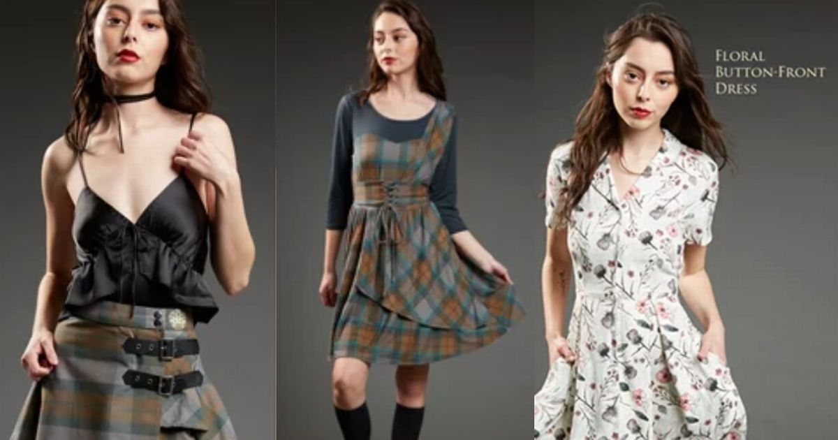 Official Outlander Clothing Range Launched By Women's Fashion Sites photo