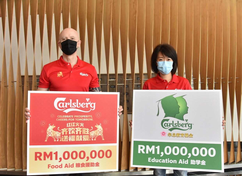 Carlsberg Pledges Rm2mil In Food, Education Aid photo