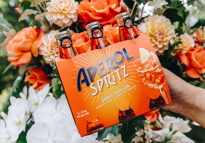 Spritz Up Your Summer With Aperol's New Ready-to-drink Range, Now At Your Local Bottle Shop photo
