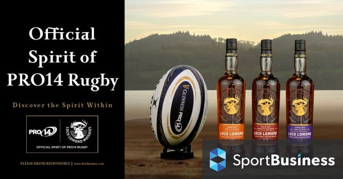 Pro14 Signs Up Loch Lomond Whiskies As Sponsor photo