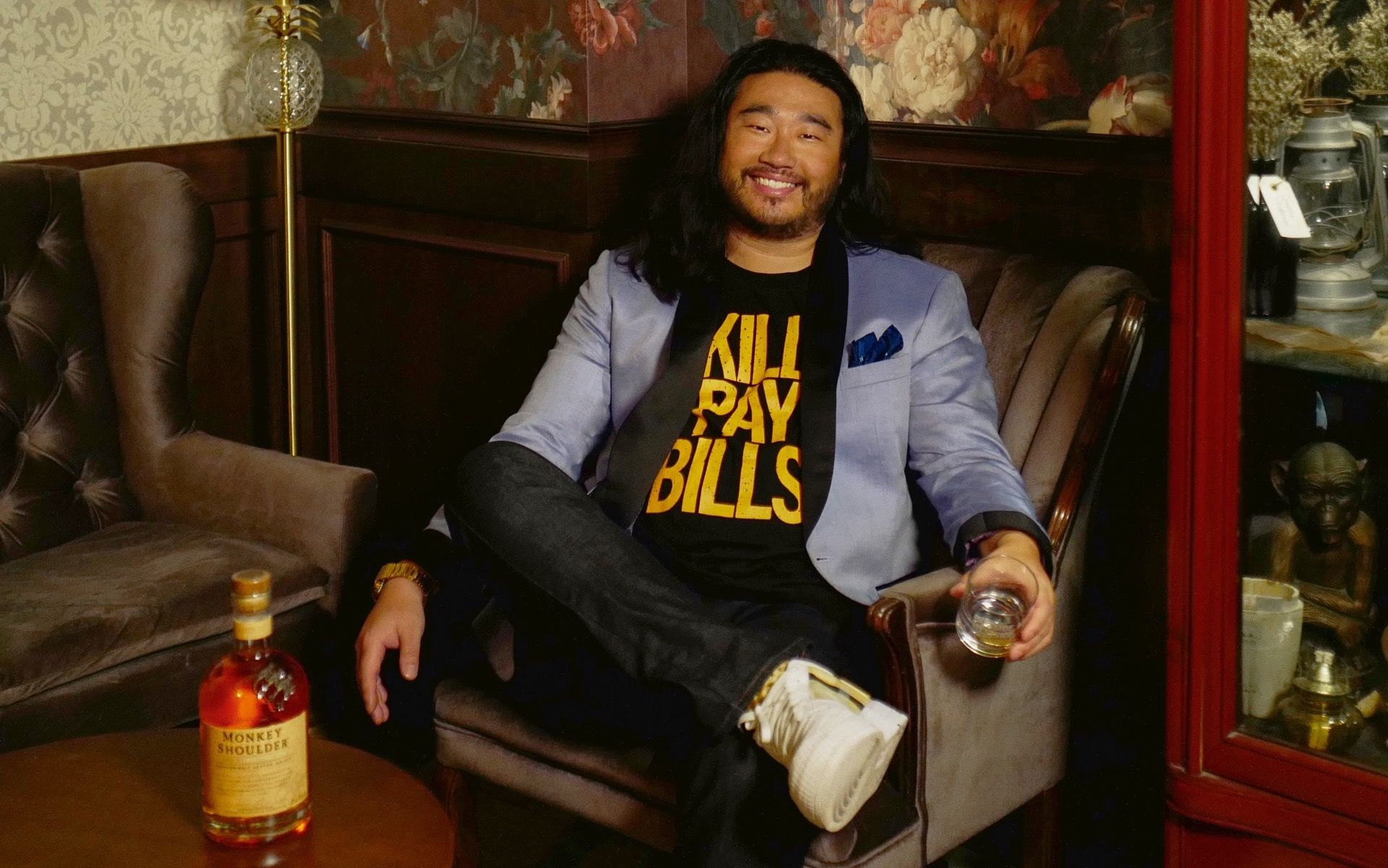 Monkey Shoulder's New Brand Ambassador Samuel Ng Is A Perfect Fit For The Brand photo