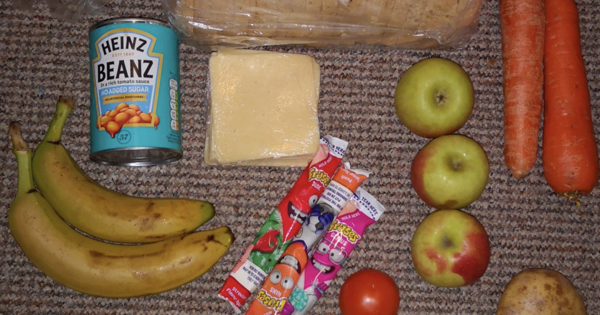 Photos Of Free School Meal Packages In The Uk Spark Outrage Online photo