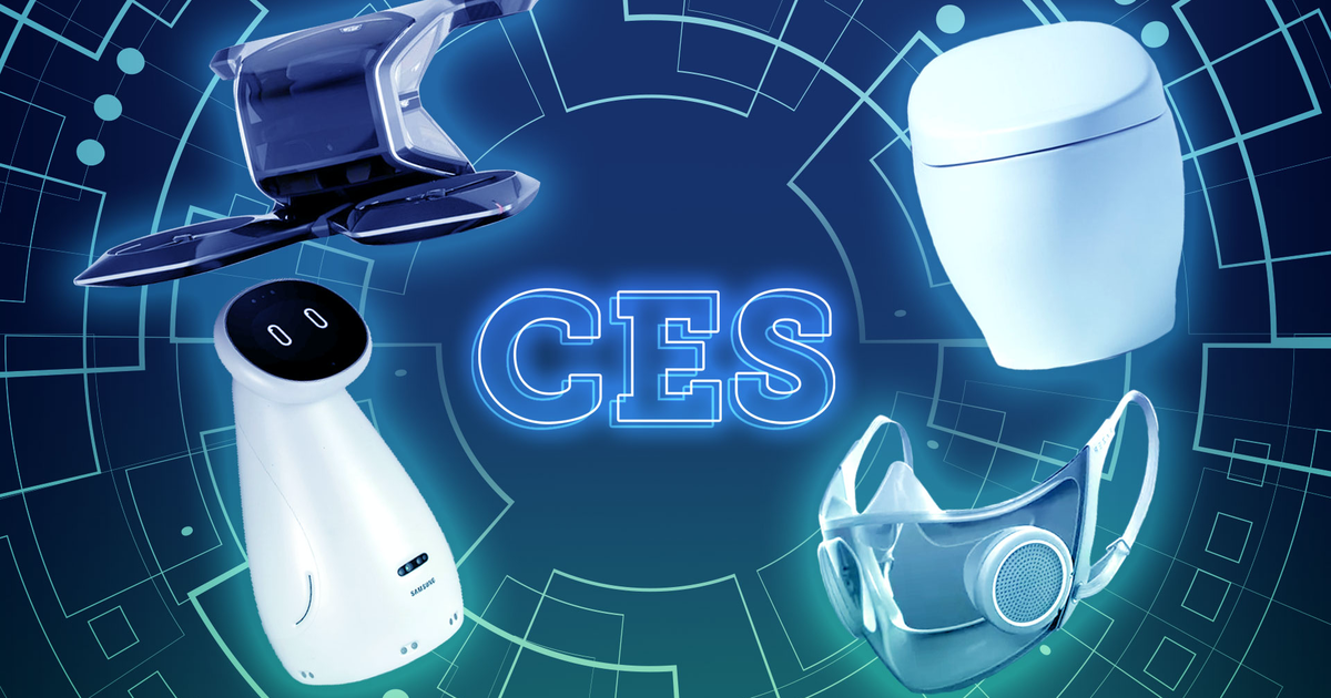 The Best Tech Of Ces 2021 Isn't Real photo