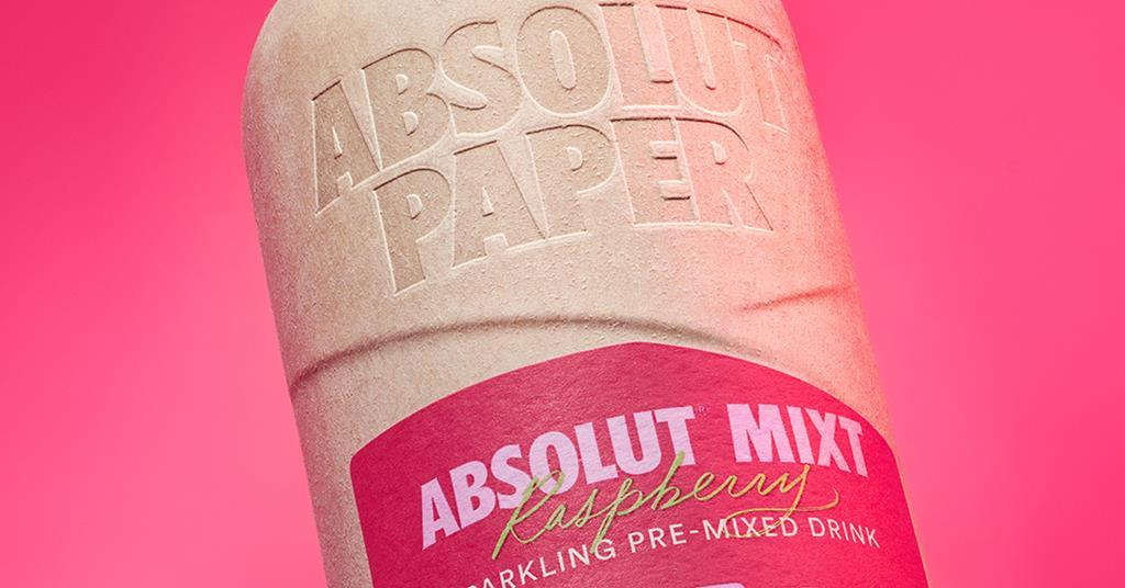 Absolut To Trial Paper Vodka Bottles In The Uk And Sweden photo