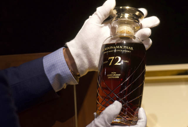 72-year-old Scotch Whisky Fetches Over $54,000 In Auction photo