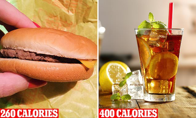 This Drink Has 140 More Calories Than A Macca's Cheeseburger photo