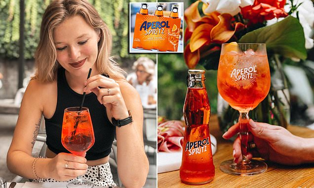You Can Now Get Ready-to-drink Aperol Spritz In Bottles photo
