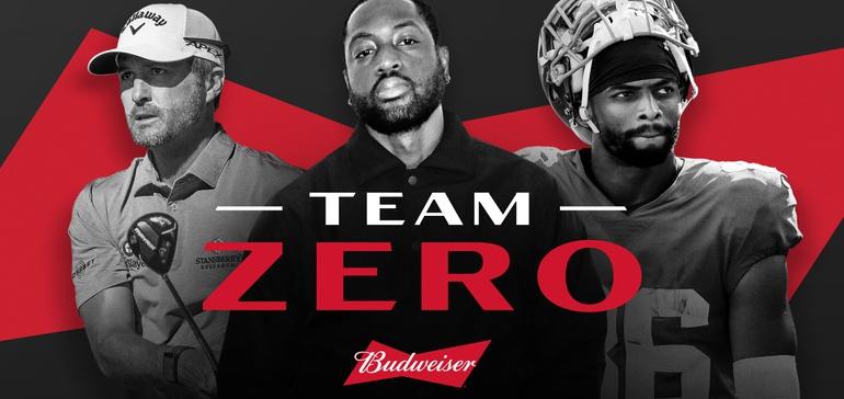 Budweiser Zero Unites Athletes To Support Dry January photo
