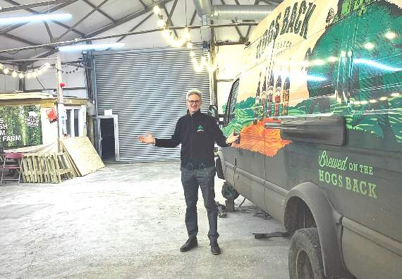 Hogs Back Offers Hop Hangar To Join Herald's Fight For Freedom photo