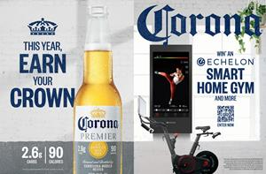 Corona Premier Expands Partnership With Echelon Fitness photo