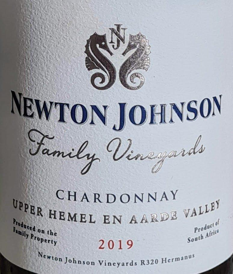 Newton Johnson Family Vineyards Chardonnay 2019 photo