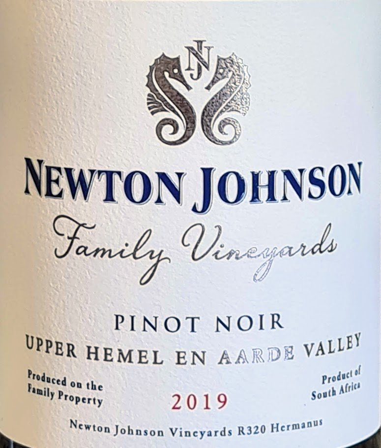 Newton Johnson Family Vineyards Pinot Noir 2019 photo