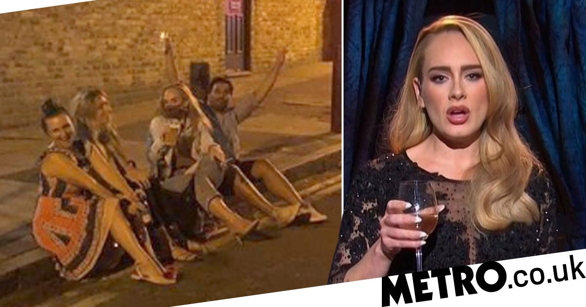 Adele Drinking Pints On A Kerb With Friends Sums Up Our Social Lives In 2020 photo