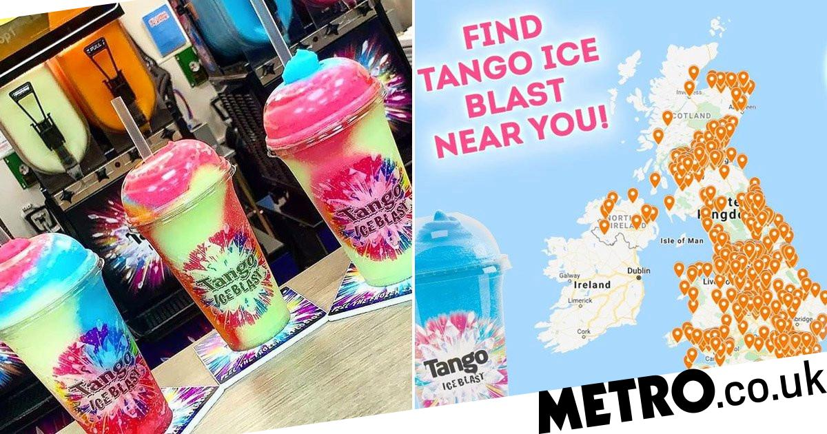 You Can Get Tango Ice Blast Drinks Delivered To Your Door photo