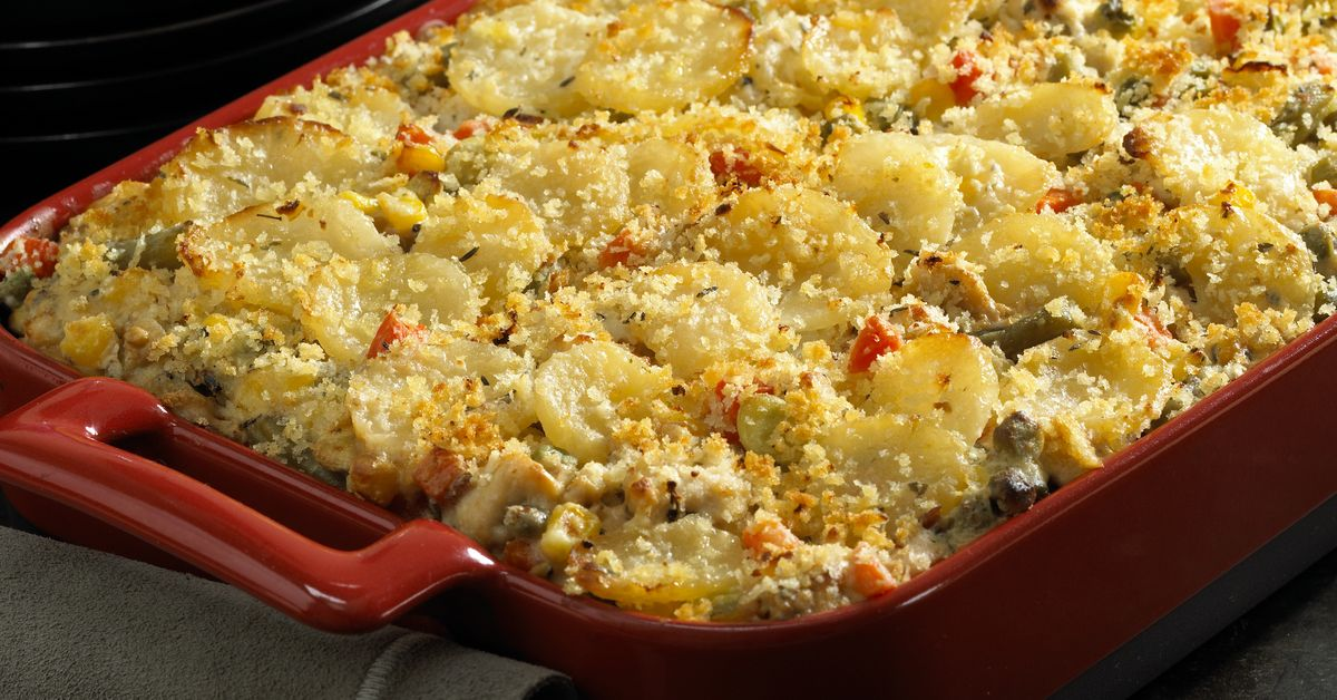 Menu Planner: Potato, Turkey And Vegetable Casserole Is Both Economical And Tasty photo
