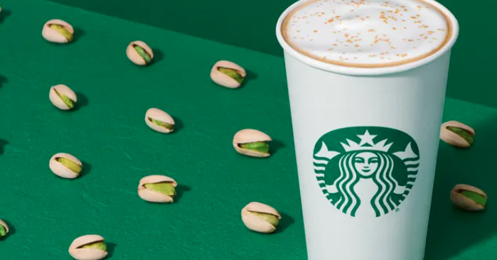 Starbucks Winter Menu Boasts New Pistachio Latte, Honey Almondmilk Cold Brew, Red Velvet Loaf photo