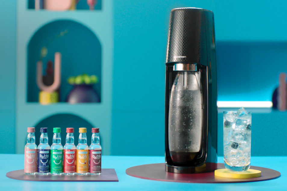 Pepsico Bringing Bubly To Sodastream photo