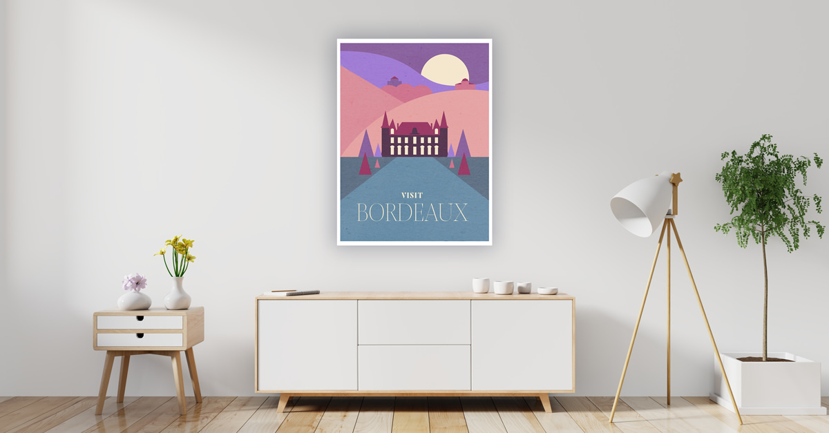 Fuel Your Wanderlust From Home With These Wine Region Travel Posters photo